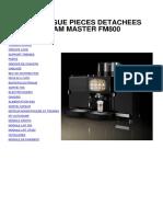 Pièces Détachées FM800 FES55