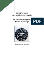 Diccionario Hñähñu