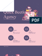 Quick Beetle Agency by SlidesGo