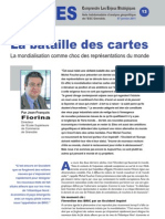 La bataille des cartes - Note d'analyse géopolitique n°13