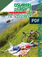 Urlaubsplaner Ferienregion Uslarer Land 2011