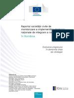 Raportul societății civile de monitorizare si implementare a situatiei romilor2019