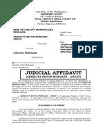 Judicial Affidavit - Arselita Angay
