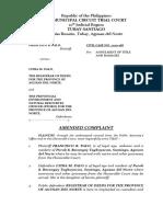 PALO vs. PALO Amended Complaint