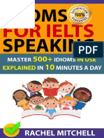 Idioms for IELTS Speaking - Rachel Mitchell
