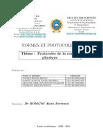Protocoles de La Couche Physique