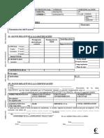 Modelo Certificacion Obras