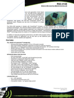 Product Brief - RSC-4128