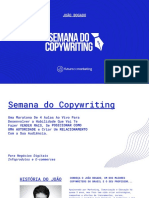 PRIMEIRO SLIDE Semana Do Copywriting