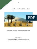 Biographie Von Hazrat Shaikh Abdul Quader Jilani GERMAN