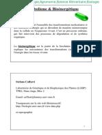Biochimie Microbienne_ Métabolisme & Bioénergétique