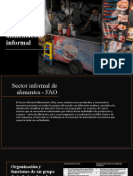 Servicios de alimentación informal