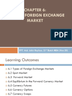 Chapter 6 Foreign Exchnage Markets PPT.