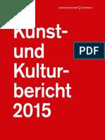 Kunst- und Kulturbericht 2015