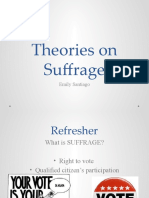 Theories on Suffrage