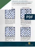 Curso de ches EXERCÍCIOS AULA 7- Escolhendo partidas modelo Curso de ches