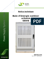 Technical Description for Urban Outdoor V5 SFR_1door FP2 rev 2 (B-380049
