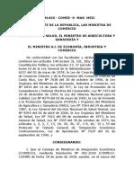 Resolución Nº 402-2018 (RTCA Microbiológicos)
