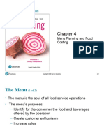 Menu Planning and Food Costing