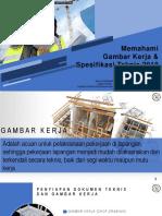 1. (Materi) Memahami Gambar Kerja (Shop Drawing) Pada Pekerjaan Konstruksi