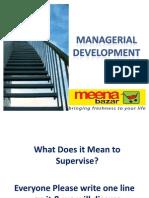 Managerial Development