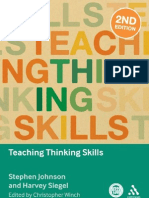 Teaching Thinking Skill