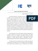 ENSAYO DISCURSO DE ANGOSTURA