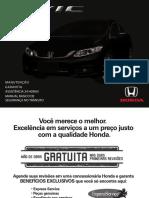 Civic 2015 - Manual de Manutenção e Garantia