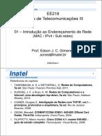 EE218 - 01 - Endereçamento de rede