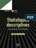 (Libres Cours Économie) Pierre Bailly, Christine Carrère - Statistiques descriptives _ L'économie et les chiffres-Presses universitaires de Grenoble (2015) (1)