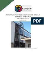 Propuesta de Proyecto de Construccionses Metalicas