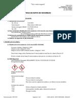 MSDS nitrato de plata