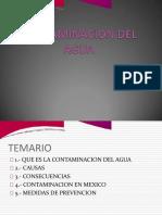 CHARLA No. 2 CONTAMINACIÓN DEL AGUA