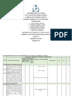 Matriz de Identificación Del Cumplimiento de La Legislación Ambiental Vigente Freire 2