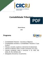 CRC-RJ - Contabilidade Tributária 2020