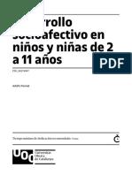6 - Desarrollo Socioafectivo en Niños de 2-11 Años