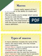 Macros in Embedded c