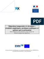 18 Etude PCN Francais Migration Temporaire Circulaire