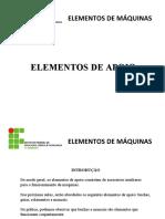 AULA 4 e 5 - Elementos de apoio