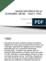 ANALISIS HISTORICO DE LA ECONOMIA