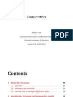 eBook Econometrics
