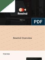 Rewind - Pitch Deck