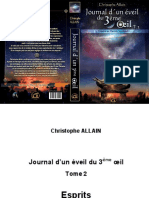 Journal d'un éveil du 3ème Oeil - T. 2 - Christophe Allain