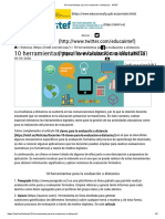 10 herramientas para la evaluación a distancia - INTEF