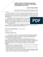 Referat-TEHNICI DE COMUNICARE ELEV-PROFESOSOR