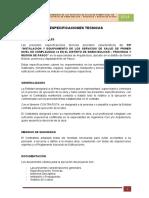 CS RANCAS - ARQ ESPECIFICACIONES TECNICAS