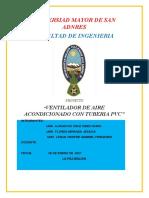 1. PROYECTO DE VENTILADOR PVC