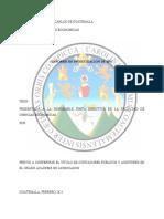 Informe de Investigación de EPS