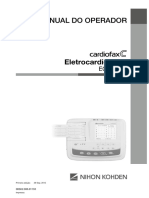 Eletrocardiógrafo Nihon - Cardiofax C - 2150