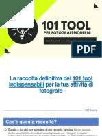 (Raccolta) 101 Tools Per Fotografi